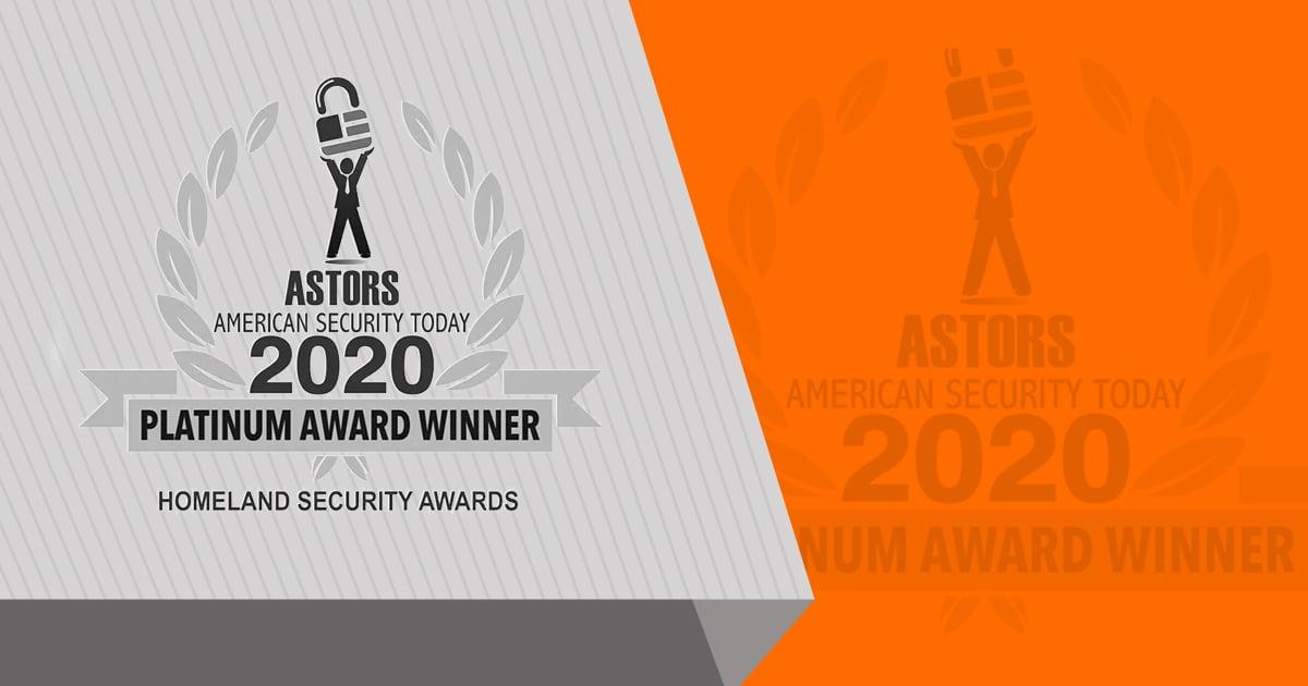 ASTORS Homeland Security Awards