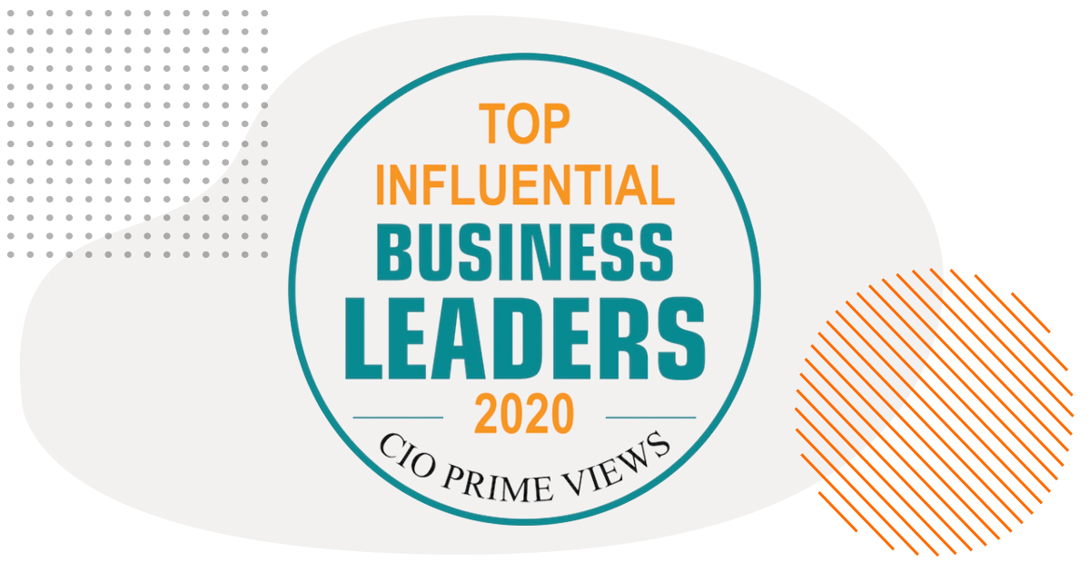CIO Prime Views - Top Influential Business Leaders of 2020