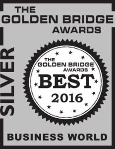 2016 - Golden Bridge Award - Silver
