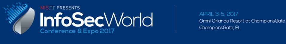 InfoSecWorld2017