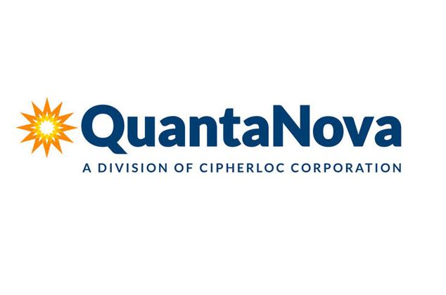 Logo for QuantaNova (a division of CipherLoc)