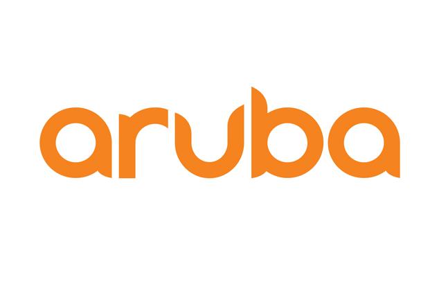 Logo for Aruba (now part of Hewlett Packard Enterprise)