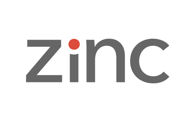 Logo for Zinc (formerly Cotap)